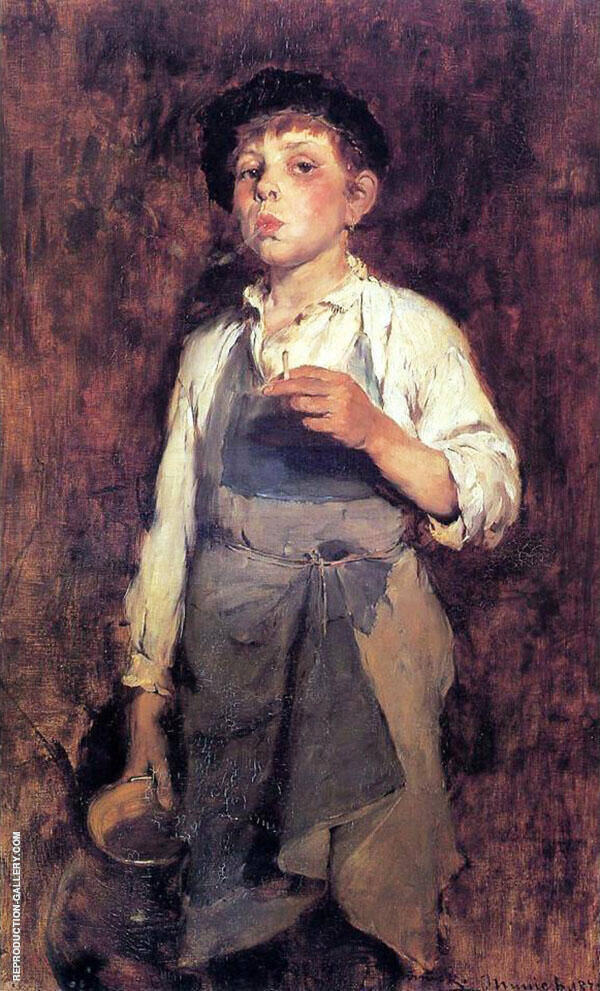 He Lives by his Wits By Frank Duveneck