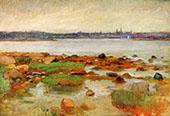 Horizon at Gloucester 1905 By Frank Duveneck