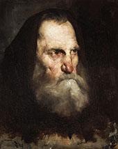 Old Monk By Frank Duveneck