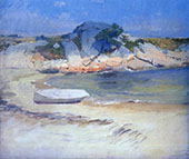 Sheltered Cove By Frank Duveneck