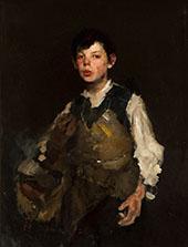 Whistling Boy 1872 By Frank Duveneck