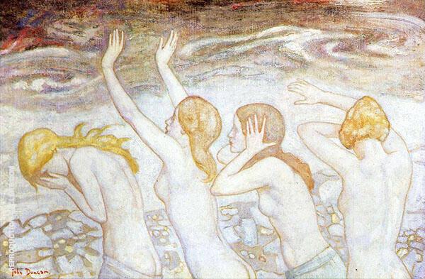 Phlegethon By John Duncan