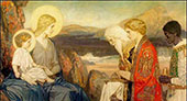 The Adoration of The Magi 1915 By John Duncan