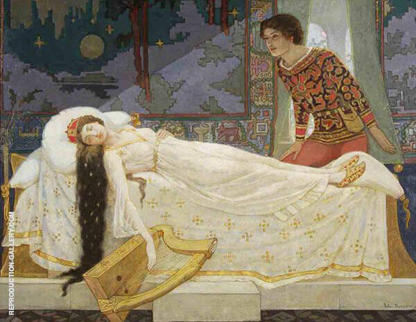 The Sleeping Princess By John Duncan