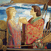 Tristan and Isolde 1912 By John Duncan