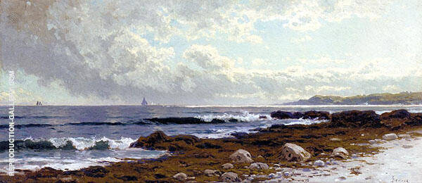 Along The Coast Painting By Alfred Thompson Bricher - Reproduction Gallery