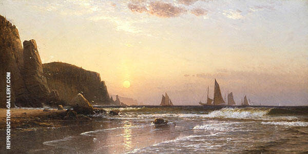Morning at Grand Manan Painting By Alfred Thompson Bricher