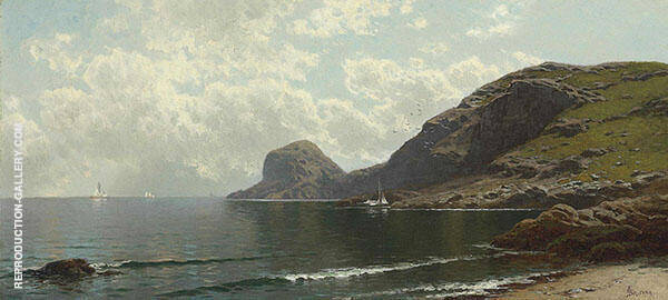 Seascape Painting By Alfred Thompson Bricher - Reproduction Gallery