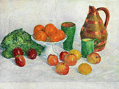 Still Life with Fruits and Vegetables By George Morren
