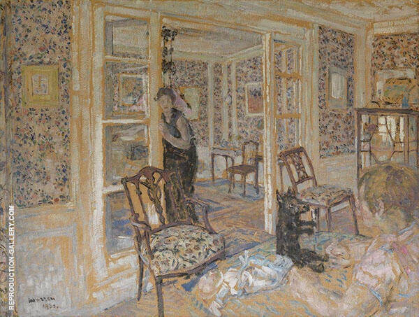 Interior 1930 By George Morren