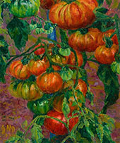 Les Tomates 1901 By George Morren