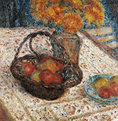 The Basket of Apples By George Morren