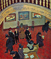 Gauguins and Connoisseurs 1911 By Spencer Gore