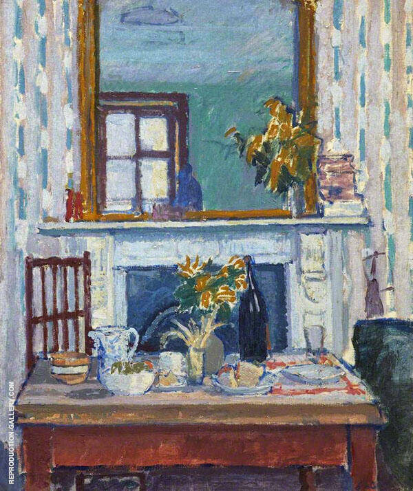 Interior Painting By Spencer Gore - Reproduction Gallery