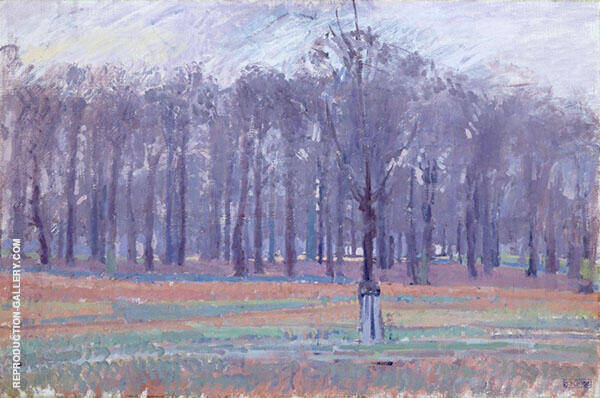 Richmond Park c1914 Painting By Spencer Gore - Reproduction Gallery