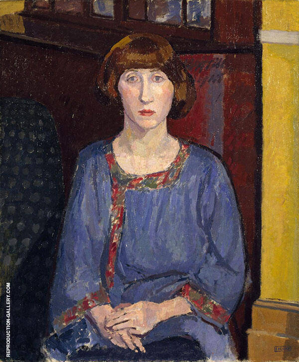 The Artist's Wife 1913 Painting By Spencer Gore - Reproduction Gallery