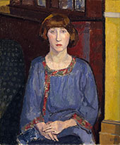 The Artist's Wife 1913 By Spencer Gore