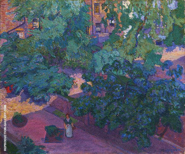 The Fig Tree 1912 Painting By Spencer Gore - Reproduction Gallery