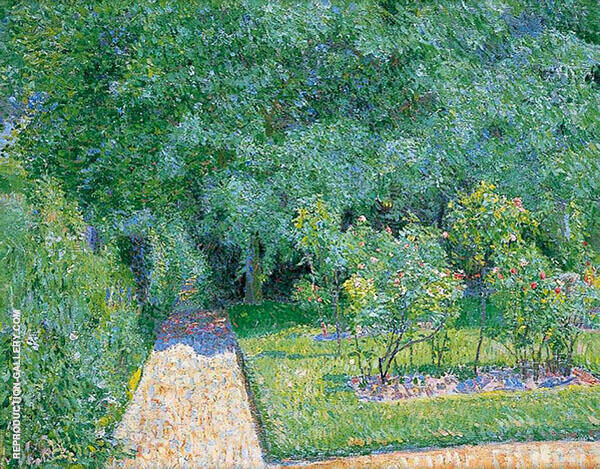 The Garden Path Garth House Painting By Spencer Gore