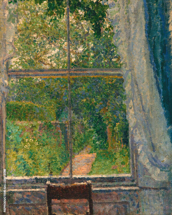 View from a Window 1909 Painting By Spencer Gore - Reproduction Gallery