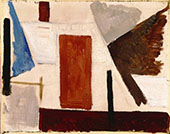 Composition 3 1929 By Theo van Doesburg