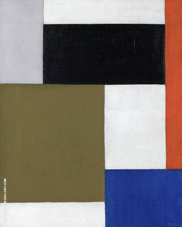 Composition 1924 By Theo van Doesburg
