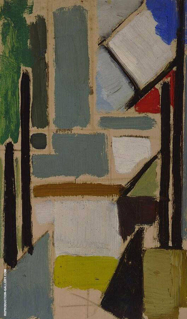 Composition 1929 By Theo van Doesburg