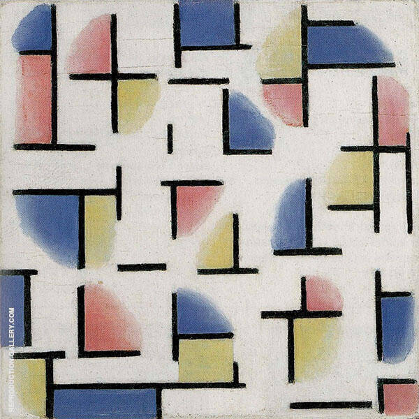 Variation on Composition XIII By Theo van Doesburg