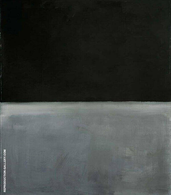 Untitled Black and Gray 1969 by Mark Rothko (Inspired By) | Oil Painting Reproduction Replica On Canvas - Reproduction Gallery