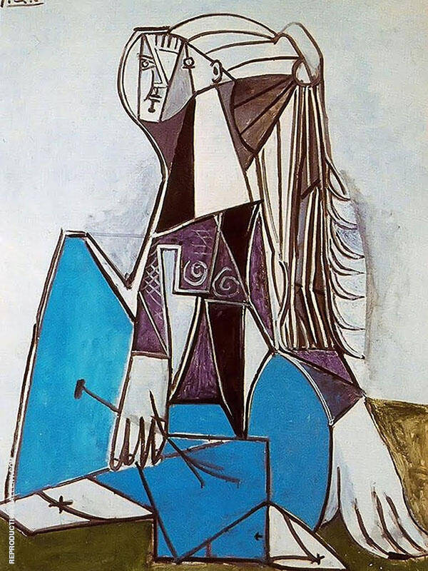 Portrait of Sylvette David 1964 Painting By Pablo Picasso