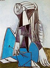 Portrait of Sylvette David 1964 By Pablo Picasso