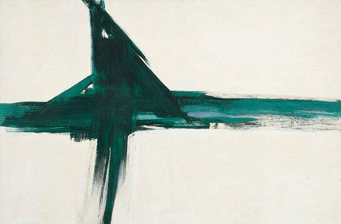 Green Cross 1956 By Franz Kline