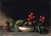 Blackberries c1813 By Raphaelle Peale