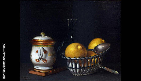 Lemons and Sugar Painting By Raphaelle Peale - Reproduction Gallery