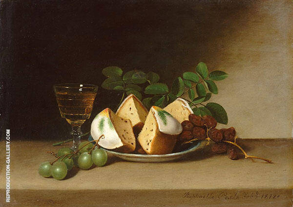 Still Life with Cake Painting By Raphaelle Peale - Reproduction Gallery
