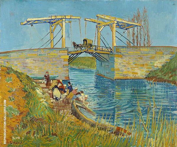 Bridge at Arles Pont de Langlois 1888 Painting By Vincent van Gogh