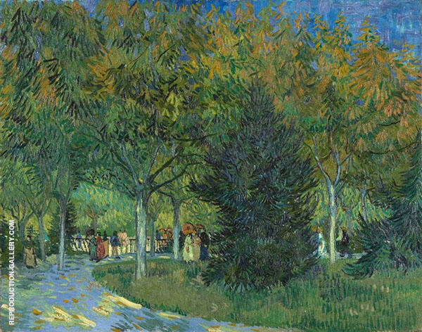 Path in The Park 1888 Painting By Vincent van Gogh - Reproduction Gallery