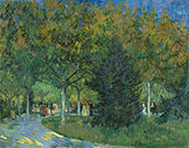 Path in The Park 1888 By Vincent van Gogh