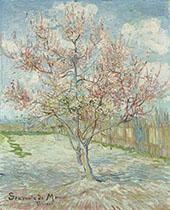 Pink Peach Trees 1888 By Vincent van Gogh