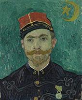 The Lover Portrait of Lieutenant Milliet 1888 By Vincent van Gogh