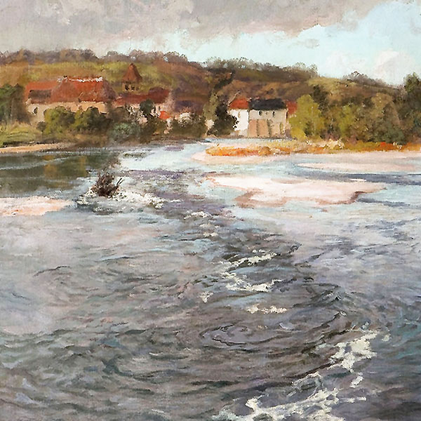 Oil Painting Reproductions of Frits Thaulow
