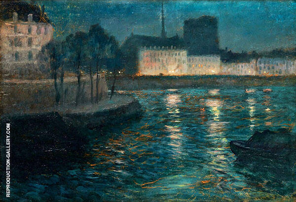 Evening Atmosphere By Frits Thaulow