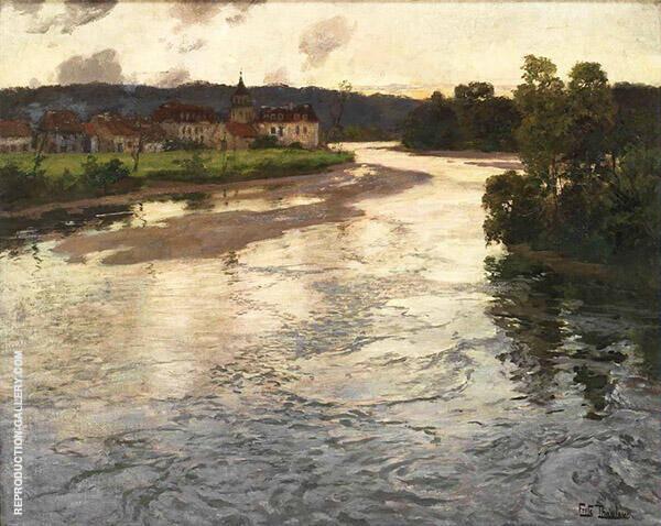 La Dordogne 1902 By Frits Thaulow