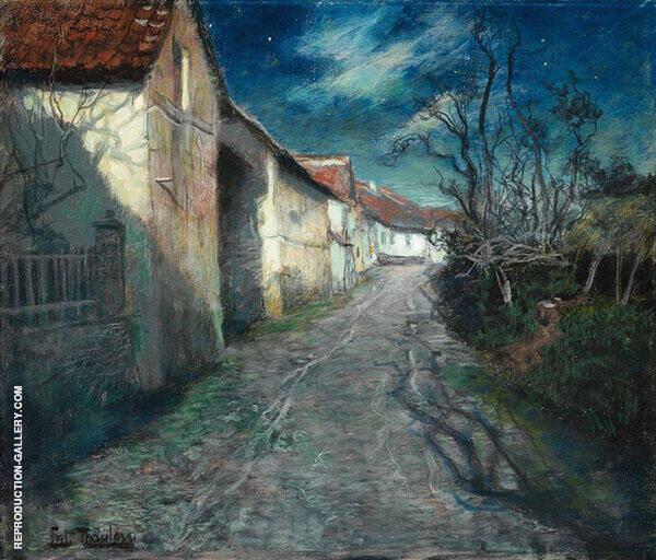 Moonlight in Beaulieu 1904 By Frits Thaulow