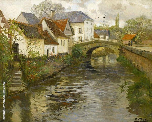 Small Town near La Panne 1905 By Frits Thaulow
