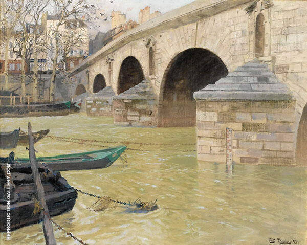 The Ponte Marie Paris By Frits Thaulow