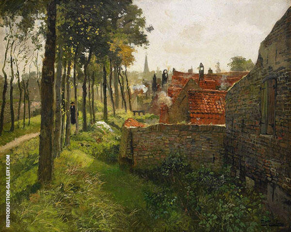 The Priest By Frits Thaulow
