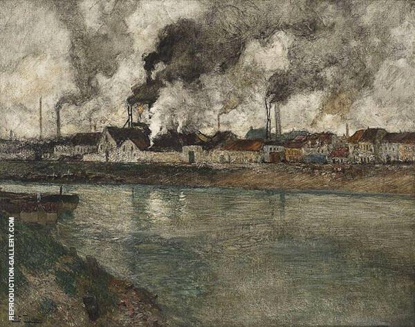 The Smoke 1898 By Frits Thaulow