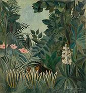 Equatorial Jungle 1909 By Henri Rousseau