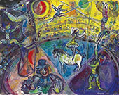 The Circus Horse By Marc Chagall